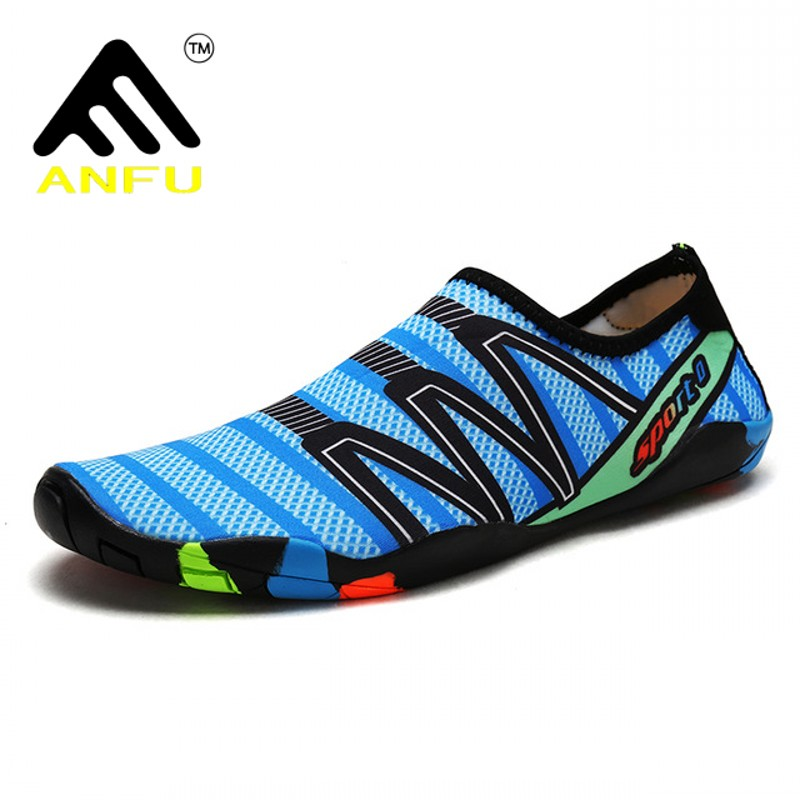 sneakers Beach Shoes Outdoor male Swimming Water Shoes Adult Couple size 35-46 Flat Soft Breathable Seaside Female Wading shoes