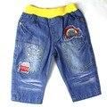 (2015 позиций) для Мальчиков джинсы шорты детская одежда синий брюки летние одежды со звездой дизайна, бесплатная доставка (ZQ-81687)