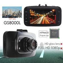Hight quality Car DVR Camera  GS8000L Vehicle Camera Video Recorder Dash Cam G-sensor HDMI Car Recorder DVR 140 degree