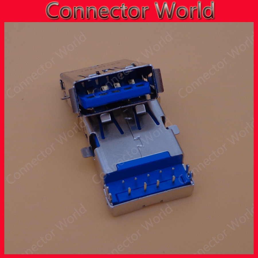 5 шт./лот 17 мм USB 3,0 разъем совместим с Asus A43S X43S K43 X44L K53 N53SV K53Z серийная материнская плата для ноутбука гнездовой usb-разъем порт