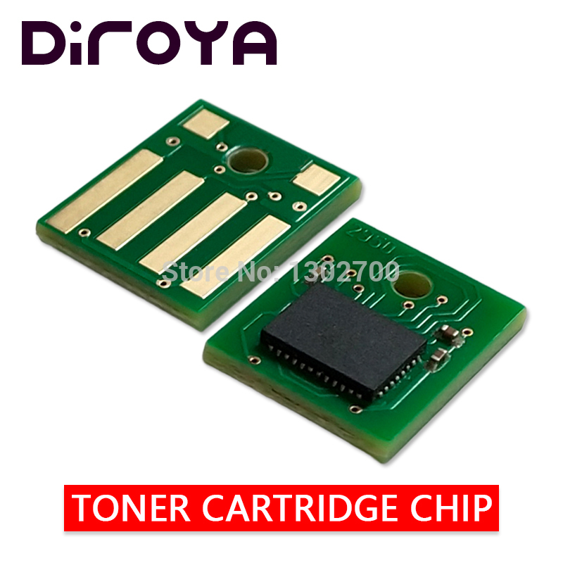 5K MEA Version 50F5H00 505H Toner Cartridge chip for lexmark MS310 MS312 MS410 MS415 MS510 MS610 MS 310 410 510 610 powder reset 10pcs for lexmark t650 t652 t654 t656 chip 25k t650h11e t650h21e eu ww version