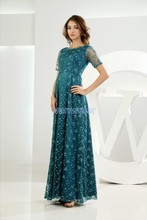 free shipping maxi dresses long 2014 vestidos formalesv brides maid lime green bandage lace Mother of the Bride Dresses