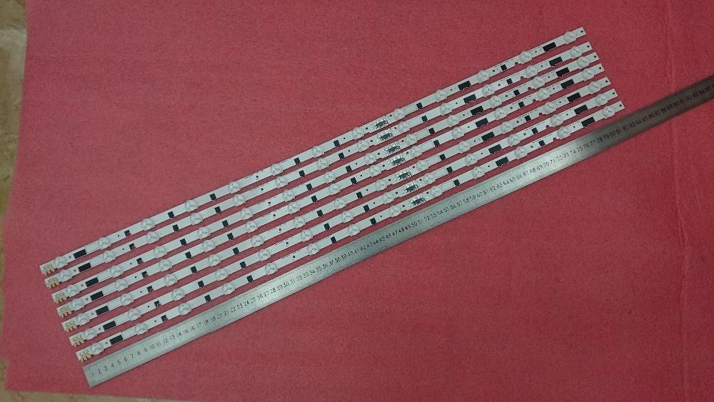 New Kit 11 PCS set 5LEDs 493mm LED backlight strip SVH500A24 5LED REV06 REV07 for