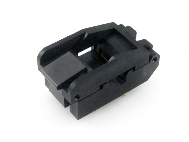 SSOP56 TSOP56 IC51-0562-1387 Enplas IC Test Burn-in Socket Programming Adapter  0.635mm Pitch 7.0mm Width Yamaichi  Clamshell