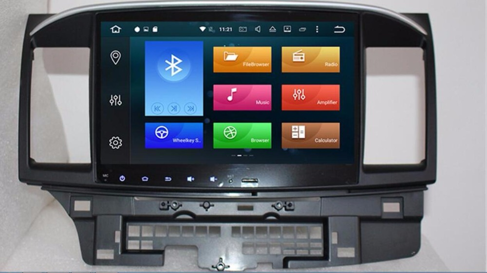 2018 <font><b>Android</b></font> <font><b>8.0</b></font> 4G RAM <font><b>10.2</b></font> inch 2DIN <font><b>Car</b></font> DVD GPS player for MITSUBISHI LANCER radio <font><b>stereo</b></font> moultmedia Steering wheel 3G WIFI image