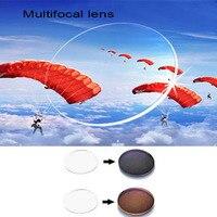 1 56 Index Standard Multifocal Progressive Lens Sunglasses Photochromic Glasses For Myopia Presbyopia EV1202