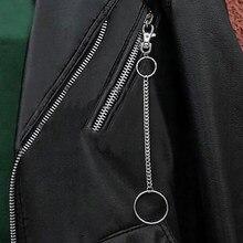 3bf36300ca Catena Chiave Della Vita degli uomini Argento Heavy Rock Metal Hip Hop Punk  Gotico di Stile Pantaloni Pantaloni Jean Biker Porta.