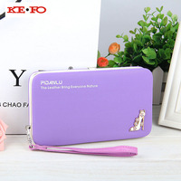 Women Wallet Purse For Samsung Galaxy Xcover 4 G390F Long Design Wallet Case Universal Cover For