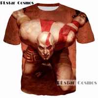 PLstar Cosmos Summer Hipster 3d T Shirt Classic Game God Of War Print For Men Women