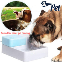 Pet automatic water dispenser with LED 12V Universal dog drinking water circulation water feeder 3W