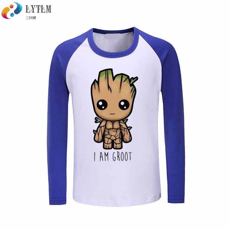 a0ca4eb59c8 LYTLM 2019 New Autumn Fashion Boys Tshirt Baby Groot Guardians of the  Galaxy Clothes for Kids Long Sleeve T Shirt Toddler Girl