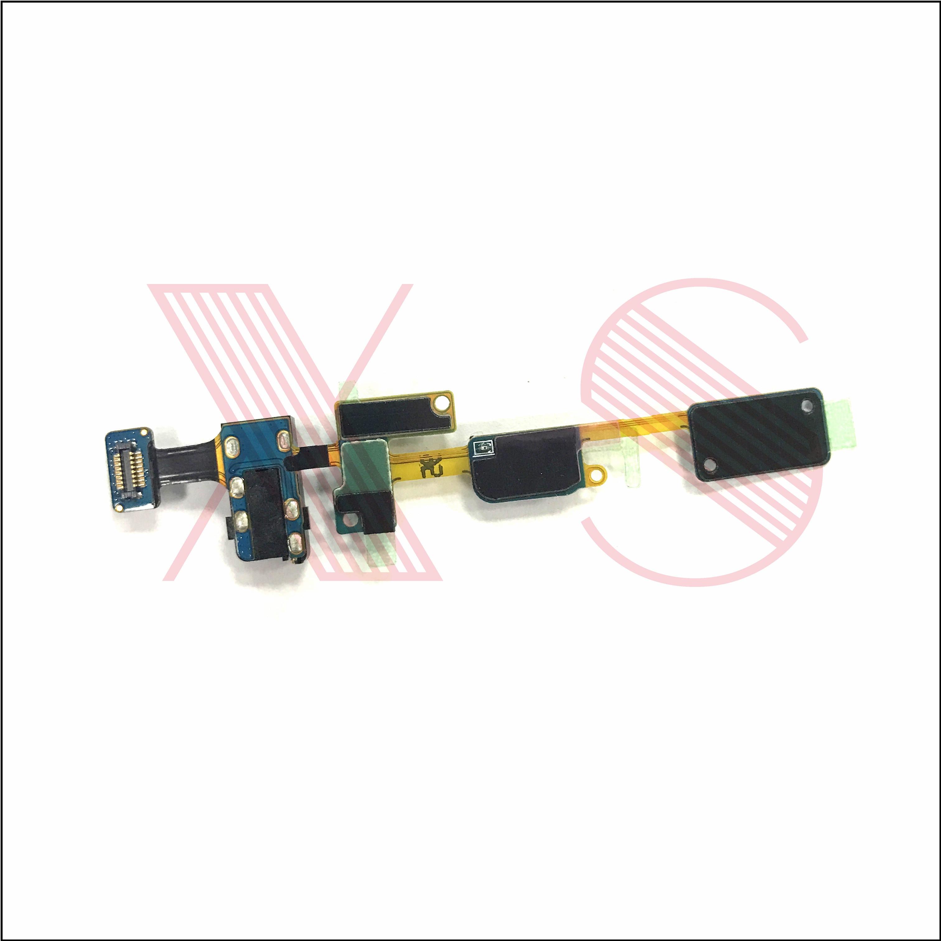 50x Para Samsung Galaxy J7 G610F Principal Home Button Chave Sensor de Luz de retorno Menu Keyborad Fone De Ouvido Áudio Jack Flex Cabo plana - 2