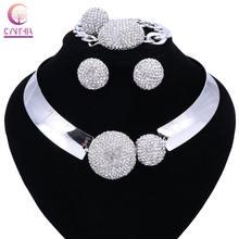 Новинка роскошное женское ожерелье макси ювелирное изделие с