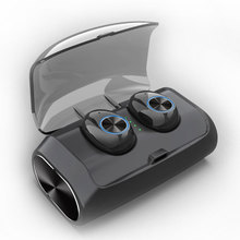 Mini Wireless Headphones Bluetooth Headset Noise Cancelling Earbuds TWS Stereo Earphone With Mic Charging box Bass Headphones fbyeg bluetooth earphone wireless headphones bluetooth sport headset sweatproof earbuds bass noise cancelling with mic for phone