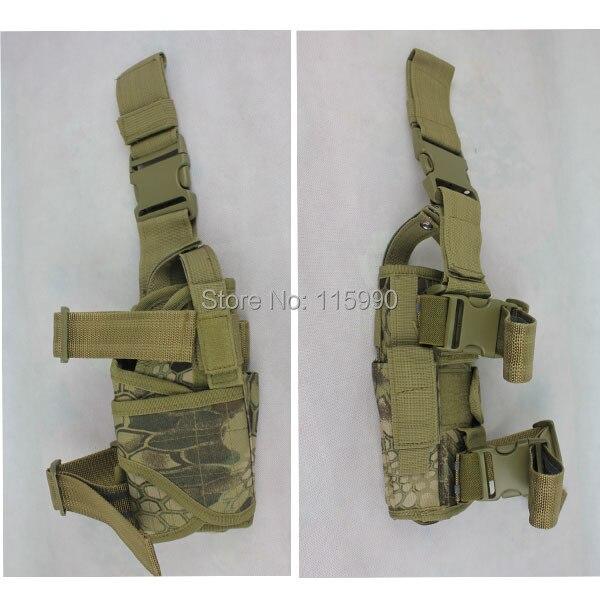 Kryptek Tactical Drop Leg Pistol Holster Pouch Bag Airsoft Gun Holster Mardrake Drop Leg Holoster Kryptek Holster