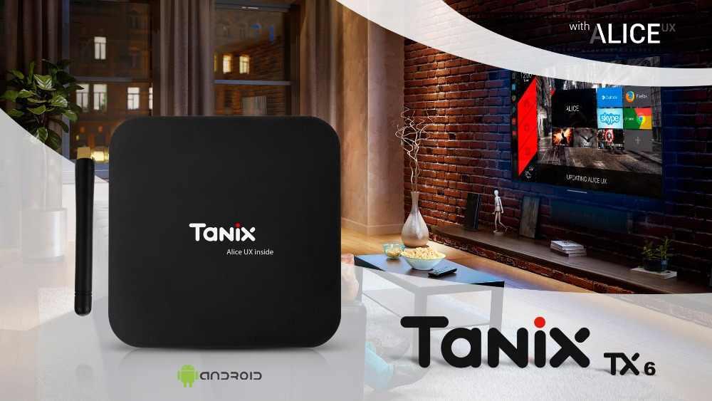 Tanix TX6 Android 9.0 TV BOX Allwinner H6 4G DDR3 32/64 2.4GHz 5GHz Wifi Hỗ Trợ 4K h.265 Bluetooth 4.0 TX6 Mini 2G 16G