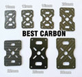 10mm 12mm 16mm 20mm 22mm 25mm 30mm Carbon Fiber Plate accessory for Quadcopter motor