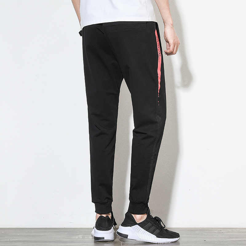 Sweatpants Casual Pants Men Full Sportswear Elastic Cotton Pants Mens Fitness Workout Skinny Trousers Cotton/Polyester to choose