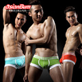7pcs/lot Asianbum casual male panties trunk fashion week low-waist pants