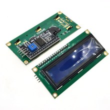 1 шт. модуль ЖКД синий экран IIC/igc 1602 для arduino 1602 lcd UNO r3 mega2560