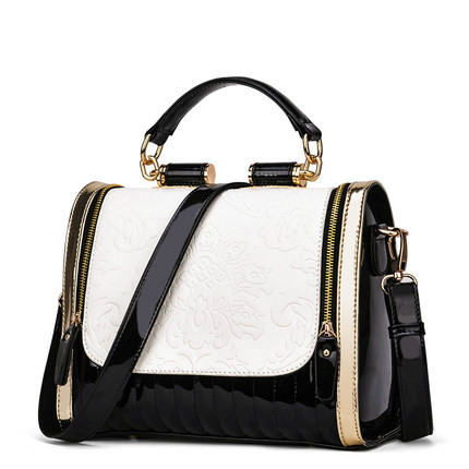 2017 New Europe Fashion Womens Bags Sequined Chains Luxury Pu Leather Famous Brands Design Handbag Women Messenger Bags