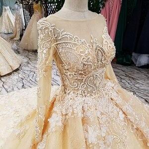 Image 5 - AIJINGYU 2021 lüks kristal köpüklü elmas prenses yeni sıcak satış elbisesi v yaka resmi gelin elbiseler düğün elbisesi WT122