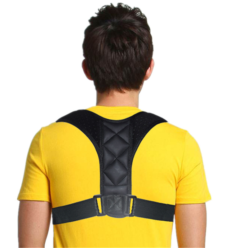 SIELENSON Adjustable Clavicle Posture Corrector Belt for Men and Women to Pull and Straighten Upper Back and to Improve Whole Body Posture 15