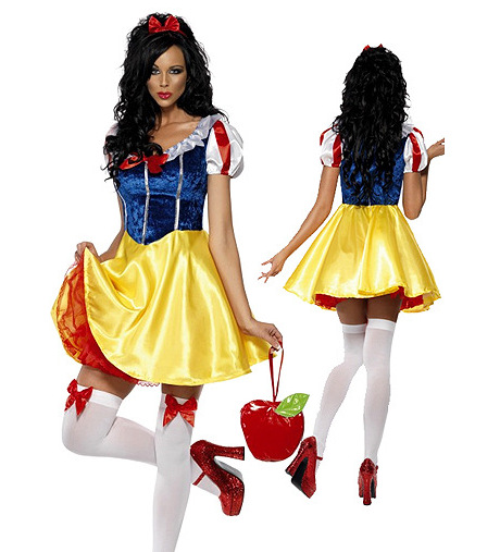 Europe and the United States Snow White princess costume dress Cinderella cosplay Halloween role playing cosplay game uniform