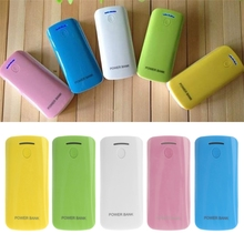 DIY Power Bank Case 2x 18650 Battery Charger External Box With LED Flashlight No Battery
