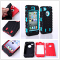 Armored robot Triple Shockproof Rugged Hybrid Phone Case Cover & Screen protection & Stylus pen For Apple iphone 4 4S 5C 5 5S SE