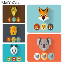 MaiYaCa Hot Sales Animal Avatar Anti-Slip Durable Silicone Computermats Size for 180x220x2mm and 250x290x2mm Rubber Mousemats(China)