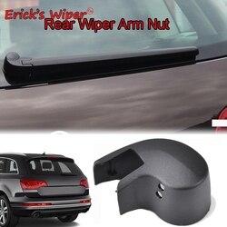 Erick's Wiper Rear Windscreen Wiper Arm Washer Cover Cap Nut For Audi Q7 MK1 2007 - 2015 Rear Window