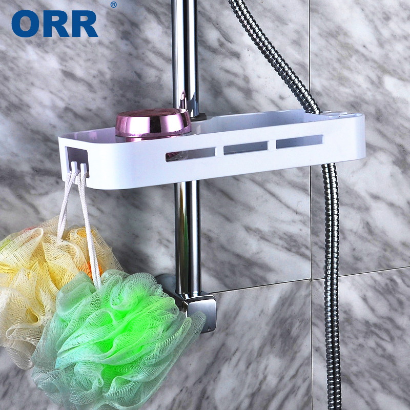 Bathroom Shelf Storage Bath Free Shipping Multifunction Shower Faucet Holder Hardware Accessory Rack Prateleira Banheiro ORR