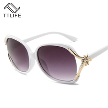 TTLIFE Vintage Square Sunglasses Women 2019 Brand Small Bee Big Frame Unisex Eyewear sunglasses gafas De Sol