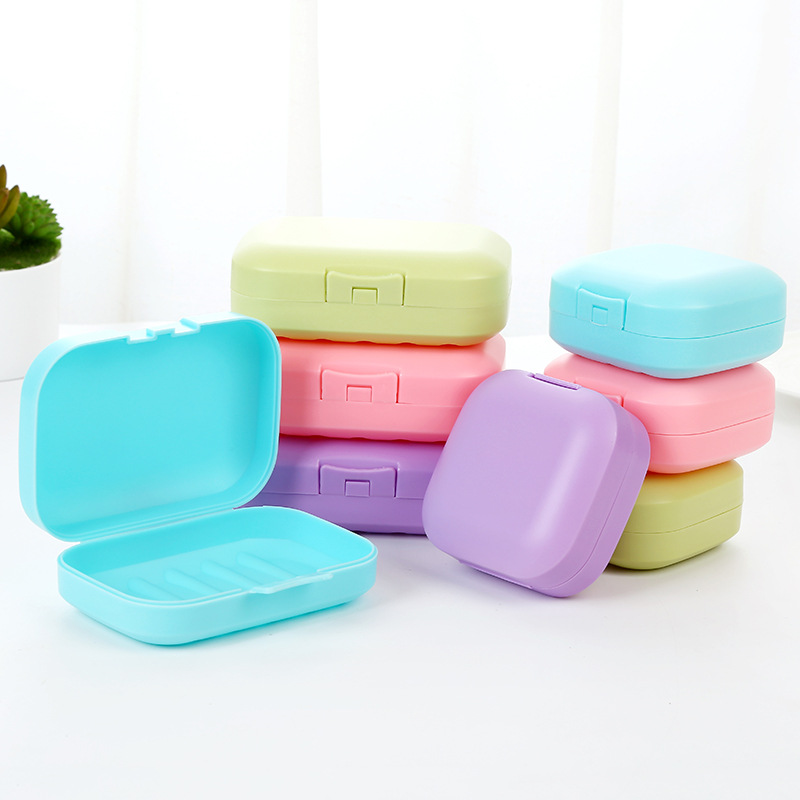 2019 NEW Protable Travel Soap Dish Box Soap Holder Storage Container Shower Soap Dishes Bathroom Accessories Big Containers Box