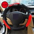 FULL WERK Car Auto Universal fabric material breathable flexible Steering Wheel Cover suitable for 38cm diameter anti-slip