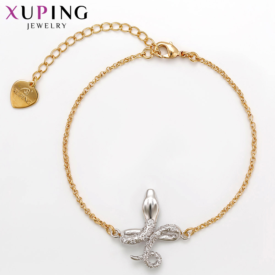 Xuping Fashion Bracelets Temperament Charm Style Bracelets for Women Girls Imitation Jewelry Engagement Gift S71,1-71262