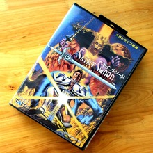Saint Sword 16 Bit MD Game Card with Retail Box for Sega MegaDrive & Genesis Video Game console system