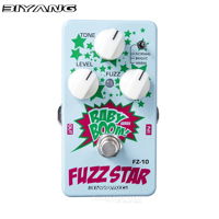 Biyang Fuzz Star Guitar Effect Pedal Effects Stompbox For Electric Guitar Smooth Sounding Fuzz Distortion Baby