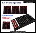 30 PCS Sem Fio Pager e 1 pcs Transmissor ktp-20 consistem em Sistema de Gerenciamento de Fila Para O Restaurante Fast Food