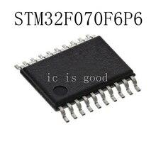 10PCS LOT STM32F070F6P6 32F070F6P6 TSSOP 20 NEW