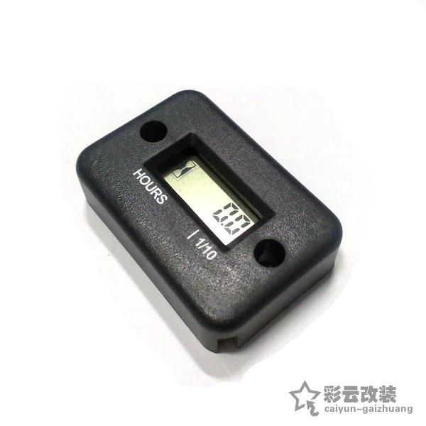 LCD Display Digital  Hour Meter For Motorcycle / Boat Engines / 2 & 4 stroke/ waterproof /
