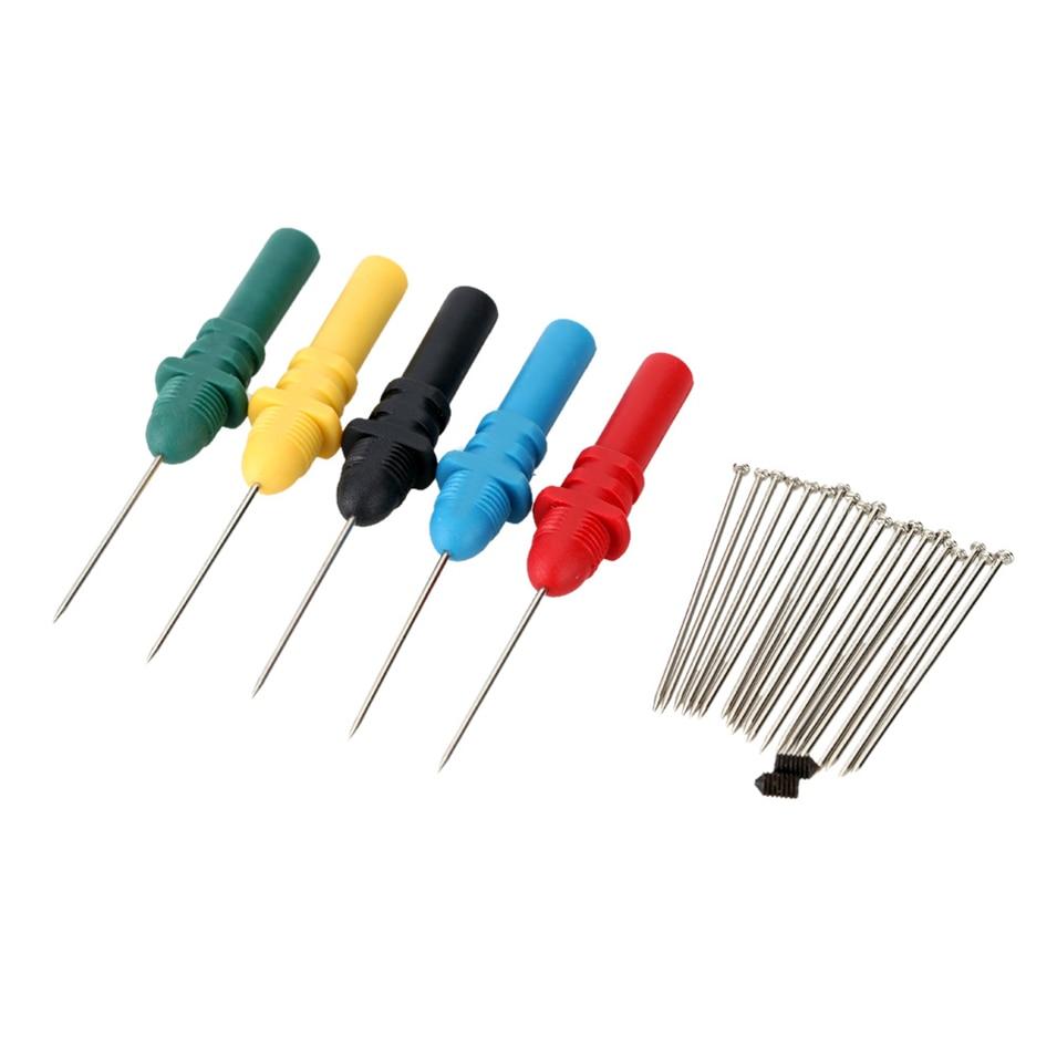 Automotive Oscilloscope Bausatz Probe Pins Kit Set HT307 Hantek Osciloscopio Car Acupuncture Repair Tools Accessories new 1pcs dso138 2 4 tft digital oscilloscope kit diy parts 1msps with probe