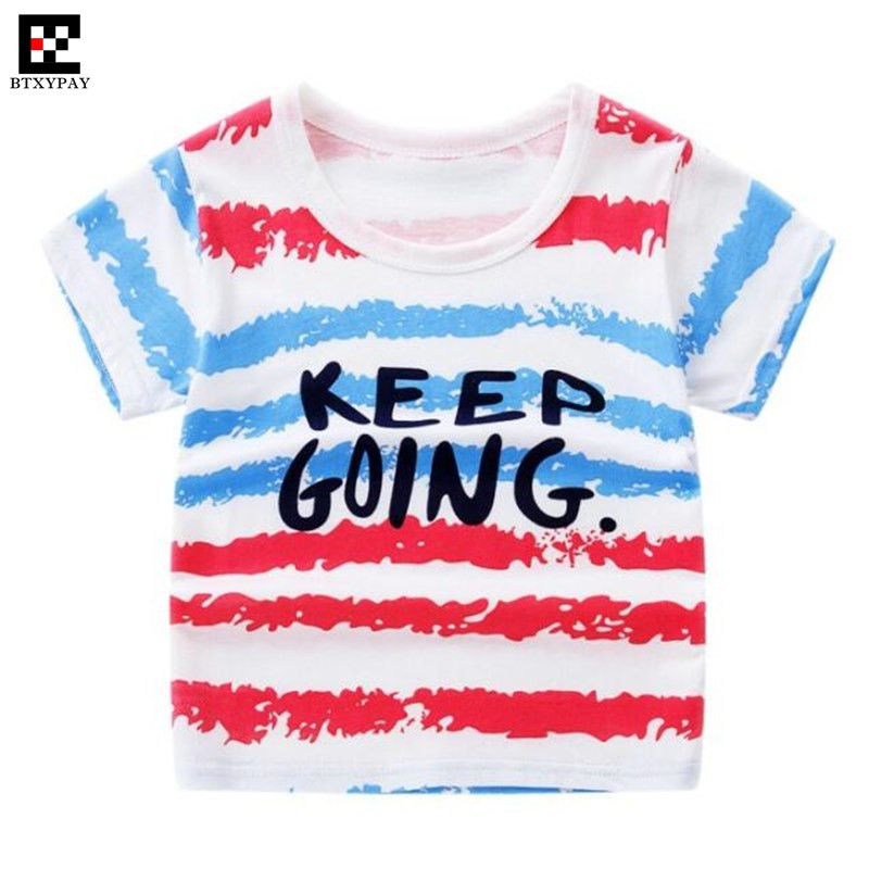 200p Cool Summer Parent-child T-shirts 100% Cotton Kids Boy&Girl Family Matching Outfits Short Sleeves Cute Print O-Neck T Shirt