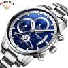 2018 New Sale NIBOSI Fashion Watches Men Top Brand Luxury Stainless Steel Analog Quartz Wrist Watch