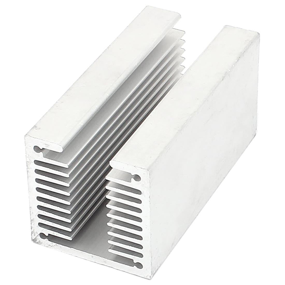 HOT-1 X Silver-aluminum Radiator U 80 * 40 * 40mm