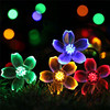50 LEDS Peach Blossom Flower Solar Lamp 7M Power LED String Fairy Lights Solar Garlands Garden Christmas Decor For Outdoor discount
