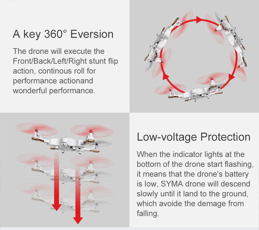 SYMA Official X56W RC Drone Folding Quadrocopter With Wifi Camera Real-time Sharing Flashing Light RC Helicopter Drones Aircraft 19