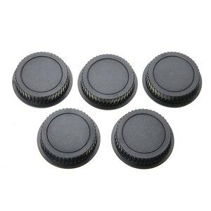 Image 5 - 5 Pcs Rear Lens Cap Dust Cover for EF ES S Series Camera Lens Holder Cap Cover Camera Len Cover Protector  Lens Accessories