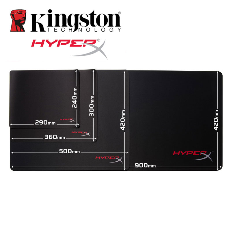Kingston Muismat HyperX Fury S Pro Gaming Mouse Pad Large HX-MPFS SM M L XL Size Professional Mousepad for dota 2 Gaming cs go цена и фото